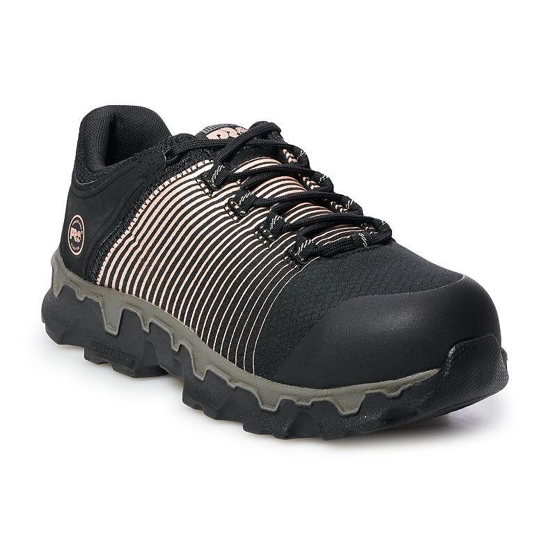 Timberland PRO Powertrain Sport Women's Work Shoes, Size: Medium (7.5), Black