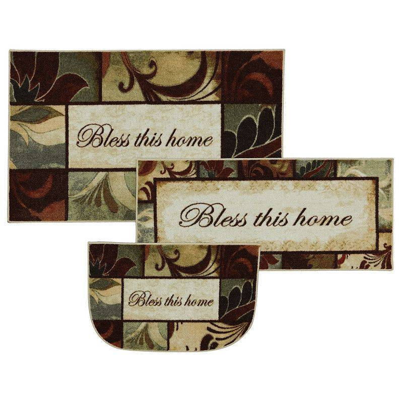 Mohawk Home Rules to Live By Kitchen Rug, 20X45