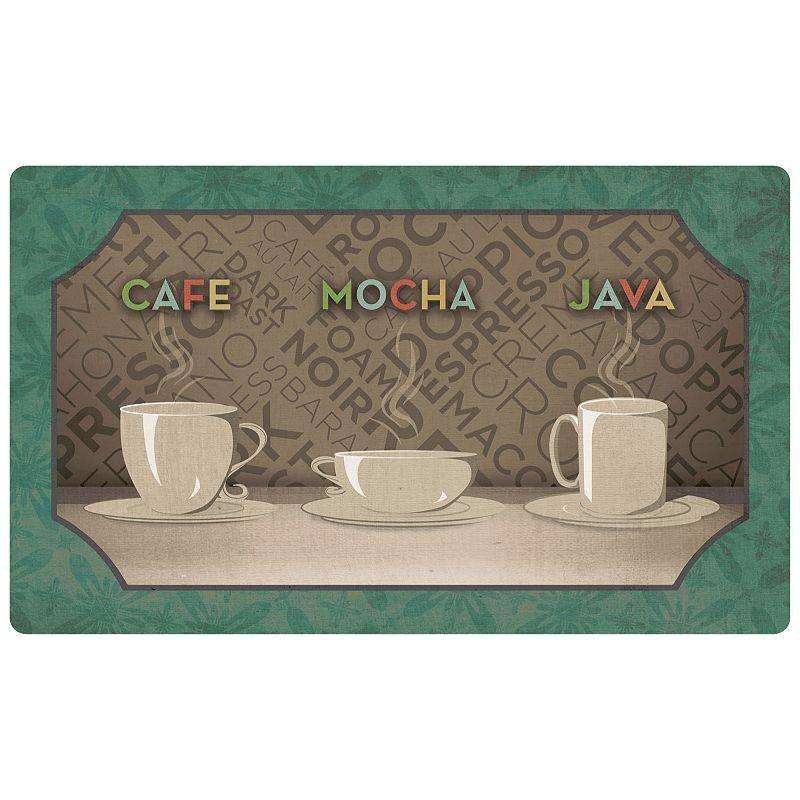 Mohawk Home Comfort Coffee Selection Kitchen Mat - 18'' x 30'', 18X30