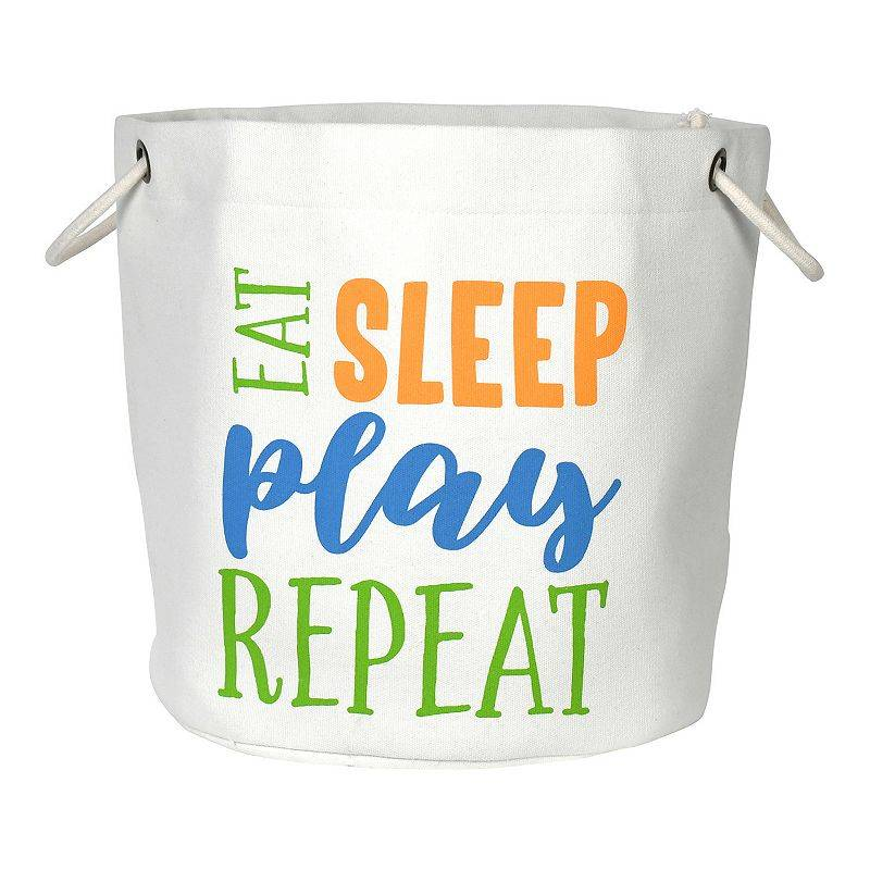 New View Gifts & Accessories Eat Sleep Play Repeat Canvas Tote