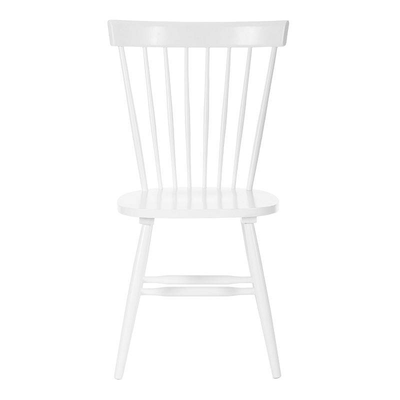 Safavieh Parker Dining Chair 2-piece Set, White, Furniture