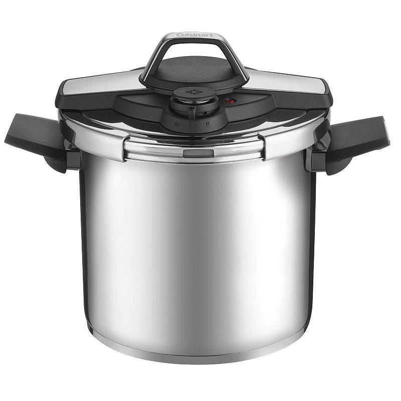 Cuisinart Professional Collection Stainless Steel Pressure Cooker, Grey, 6 QT