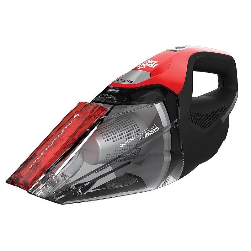 Dirt Devil Quick Flip Plus Cordless Hand Vacuum, Red