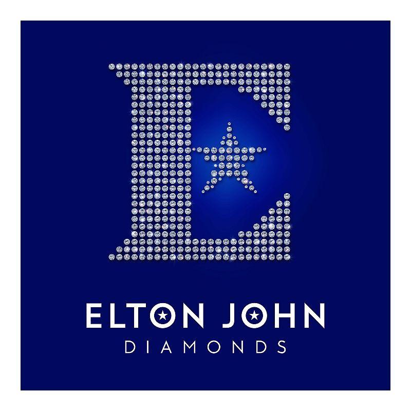 Elton John - Diamonds Greatest Hits 2-LP Vinyl Record, Black