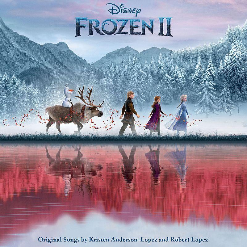 Frozen 2 Original Songs Vinyl Record, Black