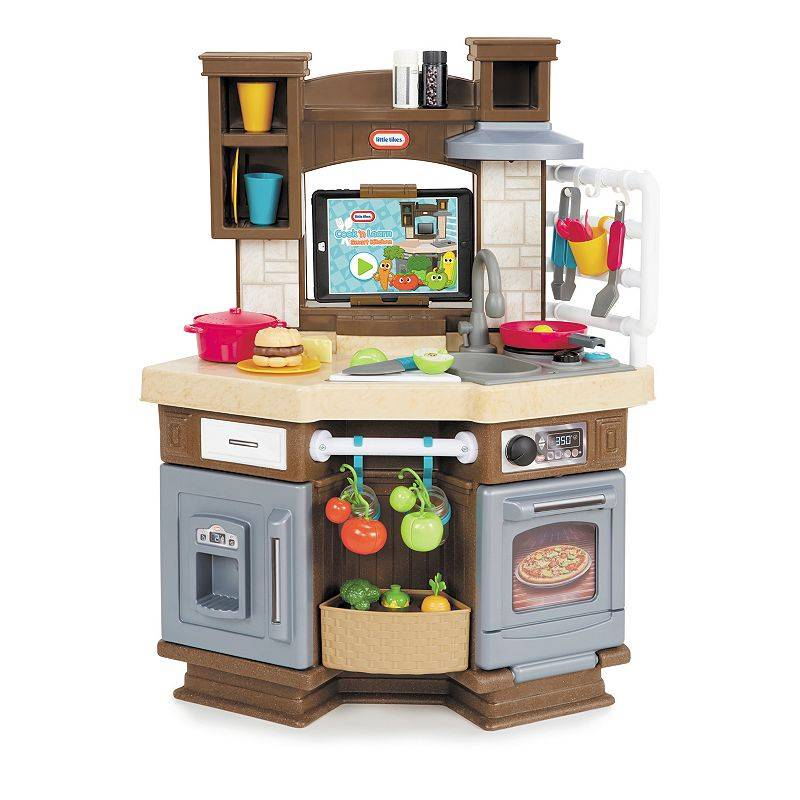 Little Tikes Cook 'N Learn Smart Kitchen, Brown