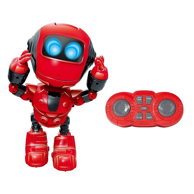 World Tech Toys Groove Bot RC Dancing Robot, Red