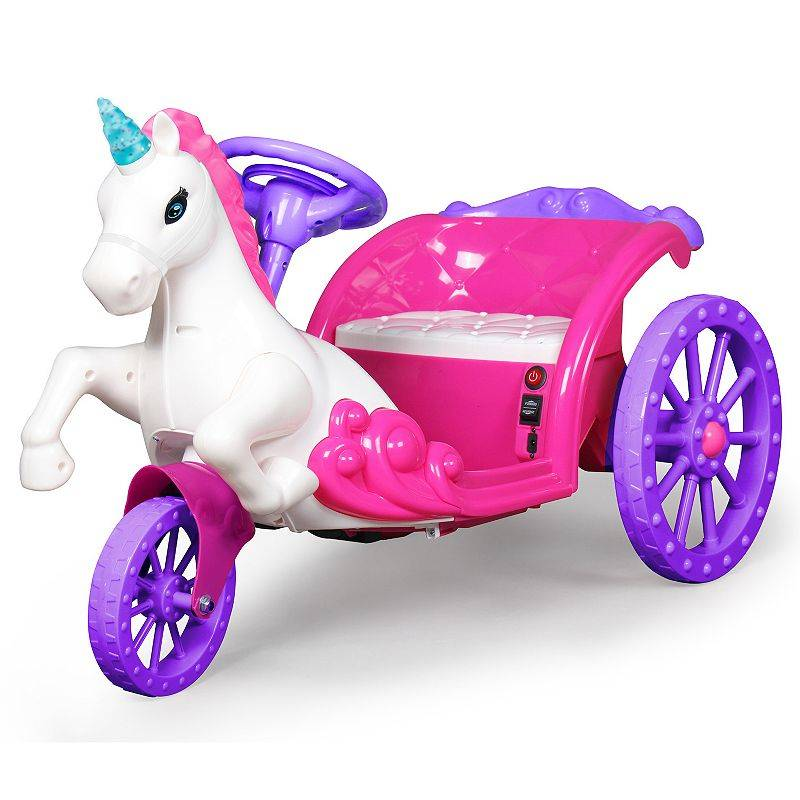 Best Ride On Cars Best Ride-On Cars 6-Volt Unicorn Carriage Ride-On