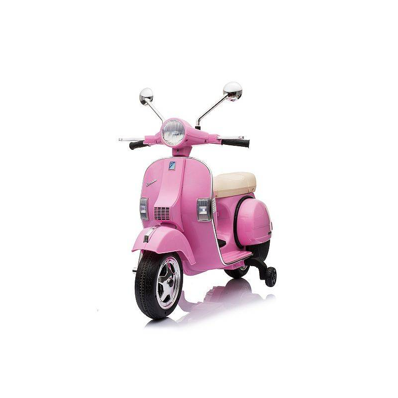 Best Ride On Cars Vespa Scooter 12-Volt Ride-on, Pink