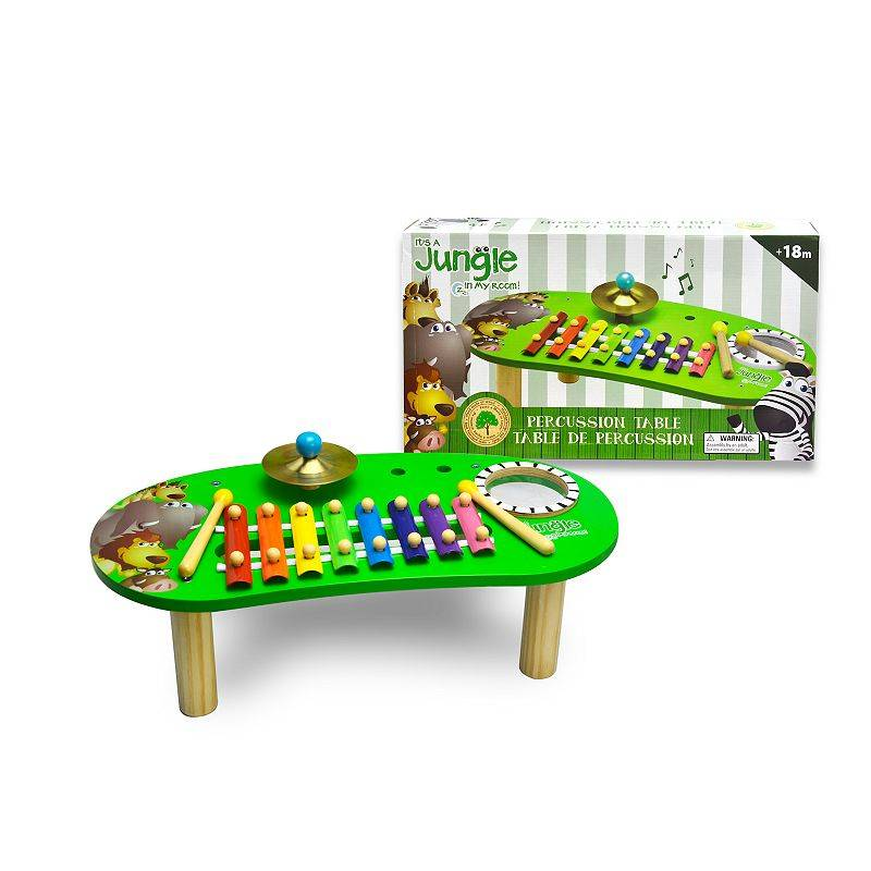 New Entertainment Jungle in my Room Percussion Table