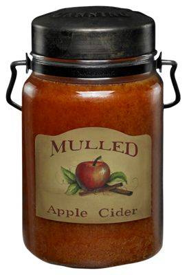 Apple McCall's Mulled Apple Cider Classic Jar Candle - 26 oz.