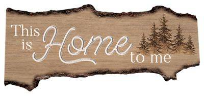 P. Graham Dunn This Is Home To Me Barky Sign Wall Decor