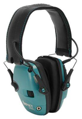 Howard Leight Impact Sport Electronic Earmuff - Teal