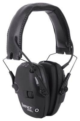 Howard Leight Impact Sport Electronic Earmuff - Black