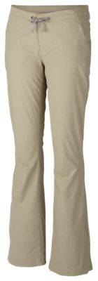 Columbia Anytime Outdoor Boot Cut Pants for Ladies - Tusk - 10R