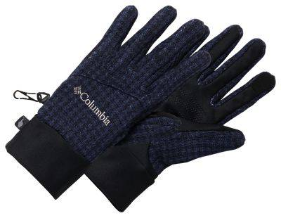 Columbia Darling Days Gloves for Ladies - Dark Nocturnal Houndstooth - L