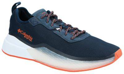 Columbia PFG Low Drag Fishing Shoes for Men - Collegiate Navy/Tangy Orange - 9M