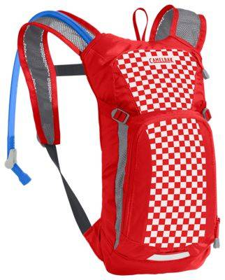 CamelBak Mini M.U.L.E. Hydration Pack for Kids - Racing Red