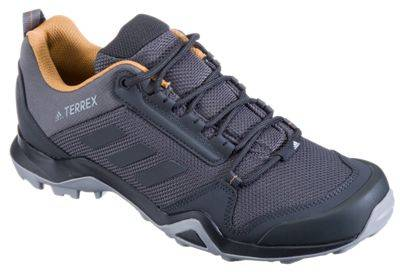 adidas Outdoor Terrex AX3 Hiking Shoes for Men - Grey Five/Black/Mesa - 10M