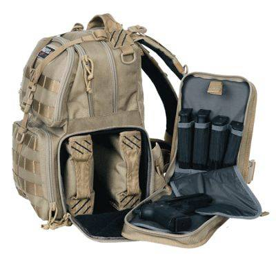 G Outdoors T1612BPB Tactical Range Backpack