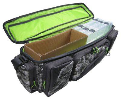 Evolution Outdoor Large Mouth In-Line Tackle Bag with Three 3600 Boxes