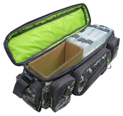 Evolution Outdoor Large Mouth In-Line Tackle Bag with Three 3700 Boxes