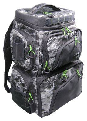 Evolution Outdoor Large Mouth Double Decker Backpack