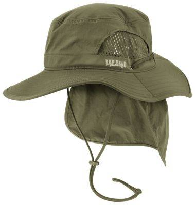 RedHead Boonie Hat with Cape - Olive - L