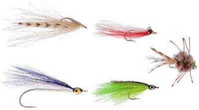 Perfect Hatch Premium 5-Pack Saltwater Fly Assortment