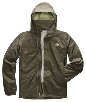 The North Face Resolve 2 Jacket for Men - New Taupe Green/Garden Green - M