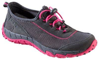 World Wide Sportsman Clear Creek Water Shoes for Ladies - Grey/Pink - 8 M