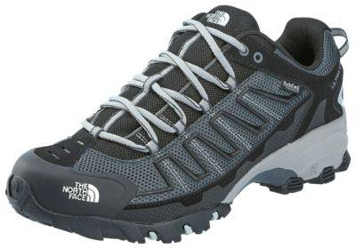 The North Face Ultra 109WP Waterproof Hiking Shoes for Men - TNF Black/Dark Shadow Grey - 10.5M