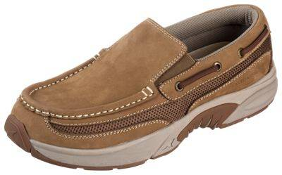Rugged Shark Pacifico Slip-On Shoes for Men - Tan - 9.5M