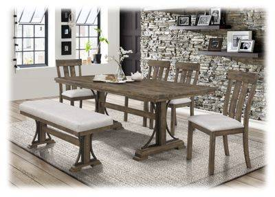 American Furniture Classics Colonial 6-Piece Dining Set