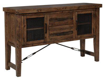 Chelsea Home Furniture Rustic Lodge Dining Room Collection Dining Server