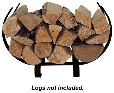 Enclume Indoor/Outdoor Small U-Shaped Fireplace Log Rack