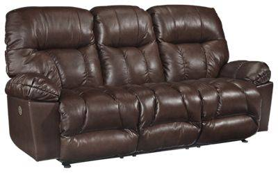 Best Home Furnishings Retreat Furniture Collection Power Reclining Space Saver Sofa