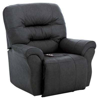 Best Home Furnishings Kenley Furniture Collection Power Rocker Recliner - Steel
