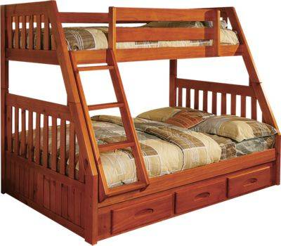 American Furniture Classic Twin-Over-Full Bunk Bed