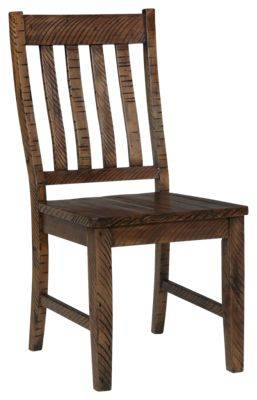 Chelsea Home Furniture Rustic Lodge Dining Room Collection Side Chair