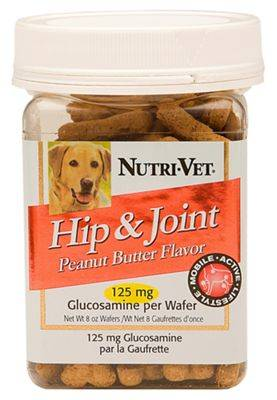 Nutri-Vet Hip and Joint Mini Wafers for Dogs