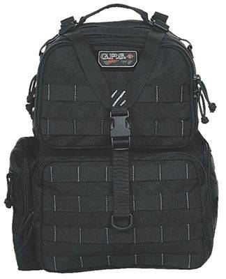 G Outdoors T1612BPB Tactical Range Backpack - Black