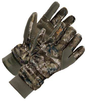 SHE Outdoor Insulated Waterproof Gloves for Ladies - TrueTimber Strata - L