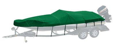 Bass Pro Shops Exact Fit Custom Boat Cover by Westland - Tracker Boats - '04-'05 Tundra 20 Sport - Forest Green