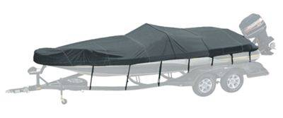 Bass Pro Shops Exact Fit Custom Boat Cover by Westland - Fish N' Ski Sport Boat - '05-'06 189 Sport - Charcoal