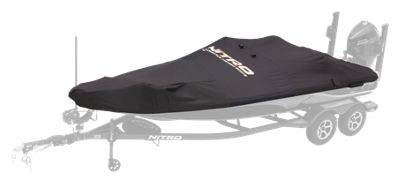 Bass Pro Shops NITRO Factory Fit Boat Covers by Dowco - 290 Sport - Bimini and Trolling Motor