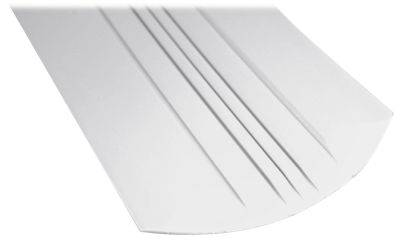 Megaware KeelGuard Keel Protector - 4' Fits up to 14' Boat - White