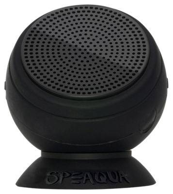 Speaqua Barnacle Pro Bluetooth Wireless Speaker - Manta Ray Black