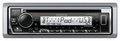 Kenwood KMR-D378BT Marine/Motorsports Bluetooth CD Receiver