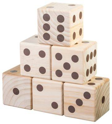 Wild Sports Giant Yard Dice Outdoor Game